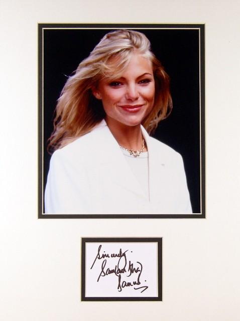 Samantha Janus Autograph Signed