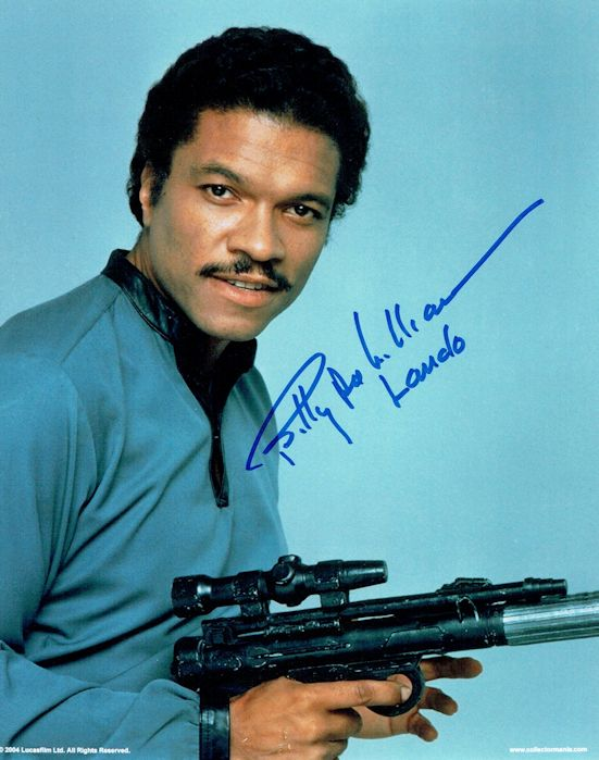 Billy Dee Williams Authentic Signed Photo Star Wars For Sale